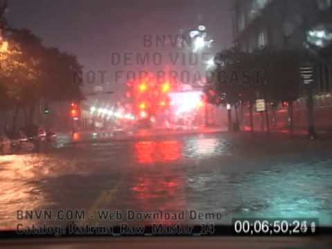 8/29/2005 Hurricane Katrina Video From New Orleans, LA - Pre Dawn - Katrina Raw Master 14
