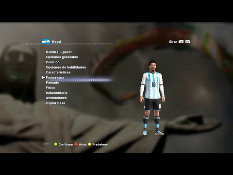 BEST FACE & HAIR LIONEL MESSI WORLD CUP 2014 [ PES 2013 ] [ DESCARGAS ]