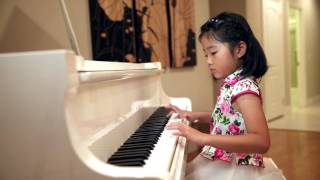 For Elise/Für Elise by Ella He (6 Year old)  play Fur Elise