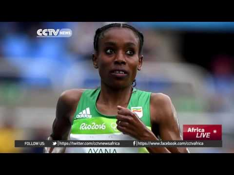 Ethiopia's Almaz Ayana Sets New Women's 10,000m Record