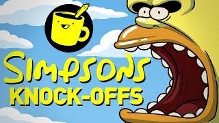 Knock-Off Simpsons Characters (ft. SuperMega)
