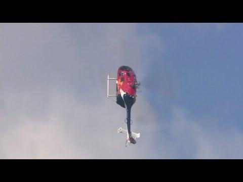 Mark Webber, kerowca F1 robi backflip'a helikopterem!