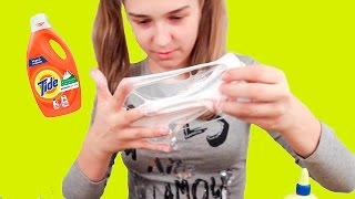 Как сделать лизуна только из соды и клея пва 548