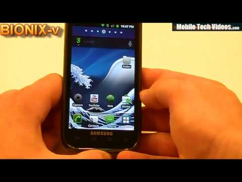 Samsung Vibrant ROM's In a FLASH (Bionix-v) *February 1st 2011*
