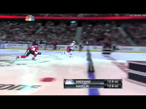 Carl Hagelin Fastest Skater Competition 2012 NHL All-Star Skills Competition