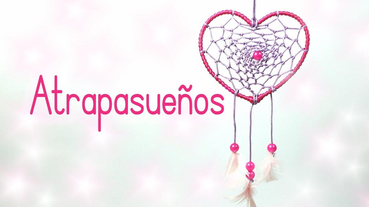Manualidades Para San Valentn ATRAPASUEOS En Forma De