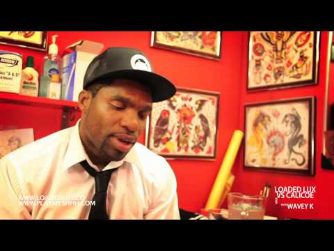 LOADED LUX VS CALICOE: VERSE BREAKDOWN W/ WAVEY K