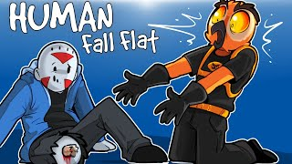 Human Fall Flat - I LOST MY LEG ON A CUSTOM MAP! (Funny Moments)