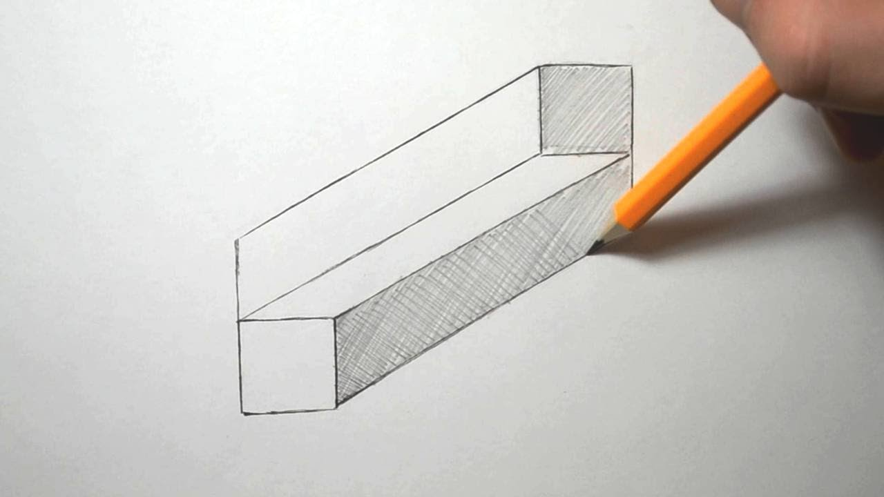 how to draw an easy optical illusion youtube. Black Bedroom Furniture Sets. Home Design Ideas
