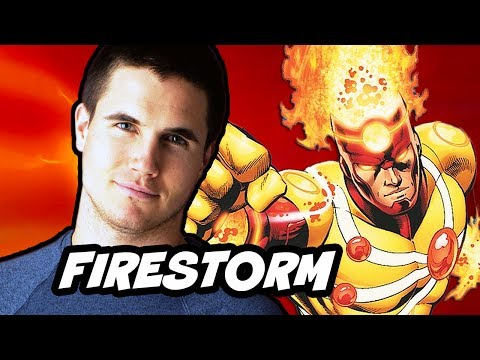 The Flash 2014 - Robbie Amell Firestorm Breakdown