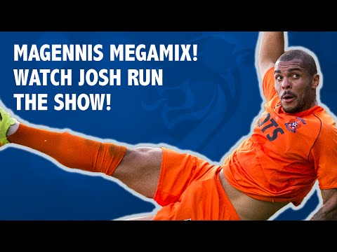 Magennis megamix! Watch Josh run the show