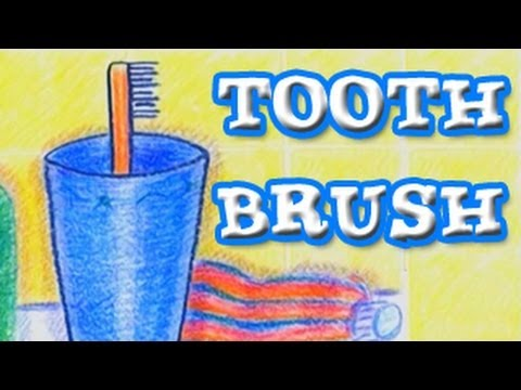 Learn How To Draw A Toothbrush video