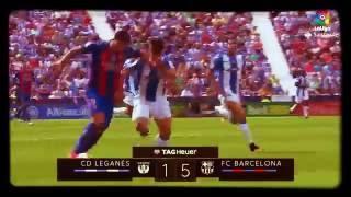 PARTIDO DE FC BARCELONA VS LEGANÉS 5 — 1
