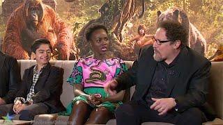 The Jungle Book (2016) - Action! Star Neel Sethi And Director Jon Favreau