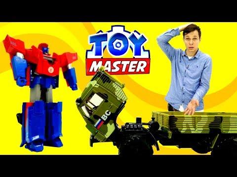 ТРАНСФОРМЕРЫ: Toy Master 🔧спасает ОПТИМУСА ПРАЙМА. Бластер НЕРФ Star Wars против Десептиконов!