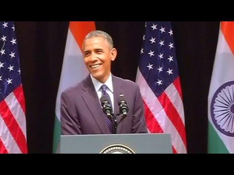 'Senorita, bade bade deshon mein...you know what I mean', says Obama
