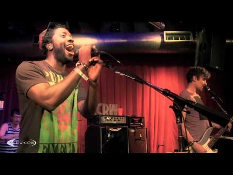 "Bloc Party performing ""Octopus"" on KCRW"