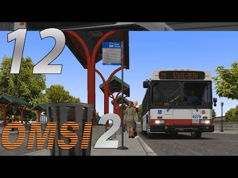 OMSI 2| Episode 12| Chicago Run K401 60ft Diesel Electric Hy
