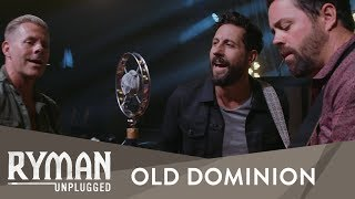Old Dominion 34 Make It Sweet 34 Ryman Unplugged Ryman Auditorium