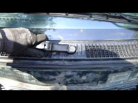 How to replace windshield wiper arms