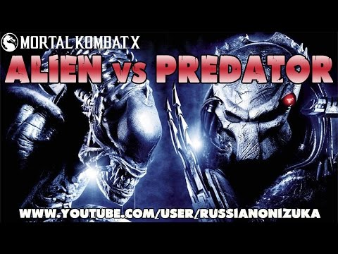Alien versus Predator - Mortal Kombat XL (Fatality, Brutality, Combo)
