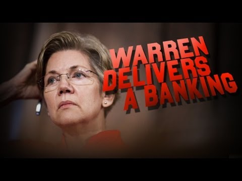 Elizabeth Warren Smacks Down Wall Street Bankers