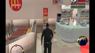 GTA SA Mc Donald's