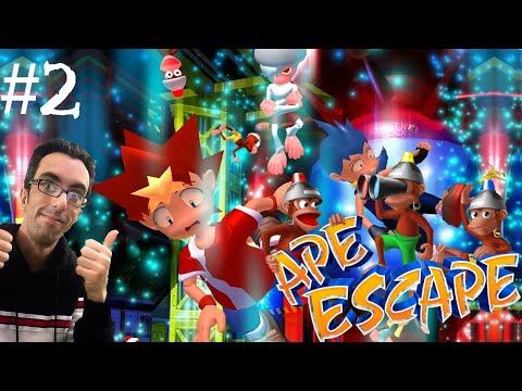 Ape Escape - PS1 ITA Gameplay - Parte 2 - Era cenozoica