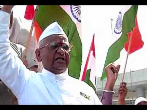 Anna Hazare - A Prayer To Fight Against Corruption video