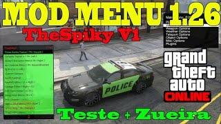 GTA V ONLINE - [PS3] [MOD MENU THE SPIKY V1 1.26] + DOWNLOAD