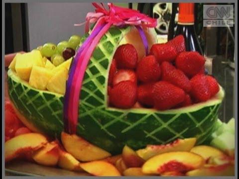 Carlo cocina canasta de sand a youtube for Como secar frutas para decoracion