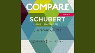 Piano Sonata No. 21 in B-Flat Major, Op. Posth., D. 960: I. Molto moderato