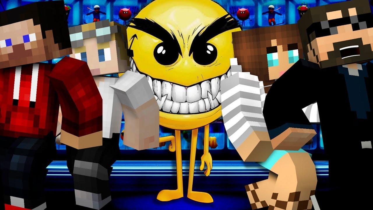 Minecraft: EMOJI MURDER | MODDED MINI-GAME