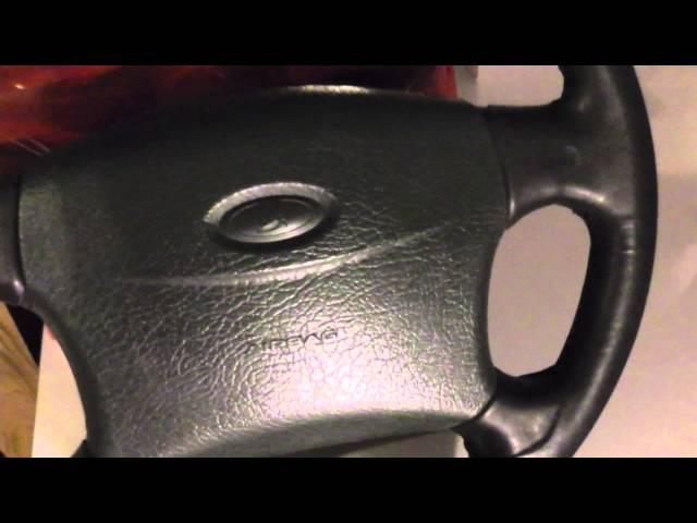Кожаная оплетка на руль