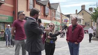 Debating political violence with an anti racist activist in #Pontypridd