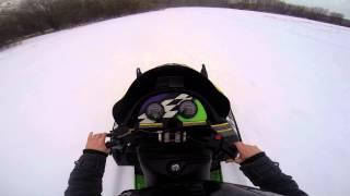 Snowmobiling Arctic Cat ZRT 600 Triple