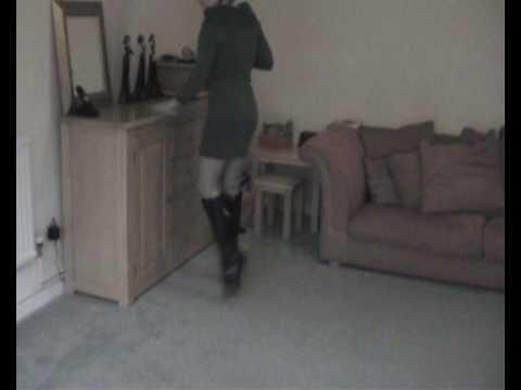 Housework in Ballet boots