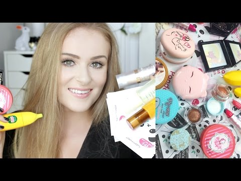 MASSIVE KOREAN MAKEUP HAUL!