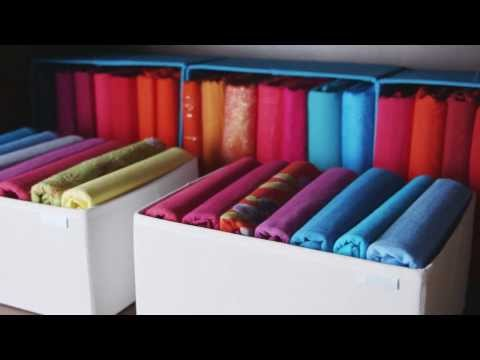 How to organize your dresser drawers and fold clothes for T shirt drawer organization