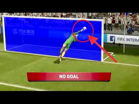 What if GOAL  LINE TECHNOLOGY *FAILS* on FIFA 17!!?