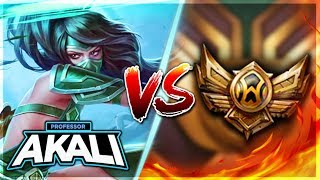 PROFESSOR AKALI VISITS BRONZE ELO (2 KILLS PER MINUTE) MASTER PLAYING IN BRONZE - League of Legends