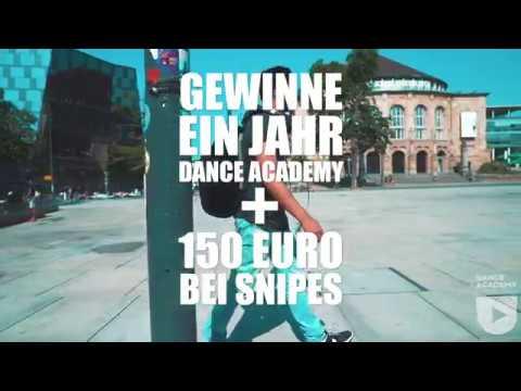 Gewinne ein Jahr Dance Academy + 150 Euro Snipes