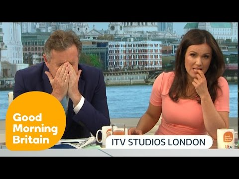 Piers Morgan Argues With Pro-Gun Campaigner About Orlando Shooting   Good Morning Britain thumbnail