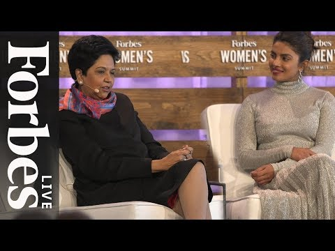 Priyanka Chopra And Indra Nooyi On Breaking Barriers And Engaging Billions | Forbes Live thumbnail