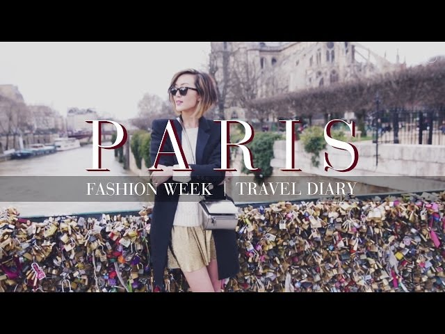 Paris Fashion Week Travel Diary