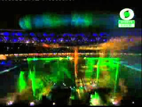 Commonwealth Games 2010 Closing Ceremony New Delhi Part-4 Laser Show