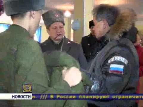Рабочая поездка Сергея Шойгу в Хакасию