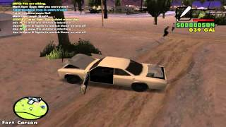 GTA SA: Thug Life - CAR JACKING AND ROMANCING (FCRP) [E4]
