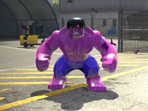 LEGO Marvel Superheroes - PINK HULK FREE ROAM GAMEPLAY (MOD SHOWCASE)