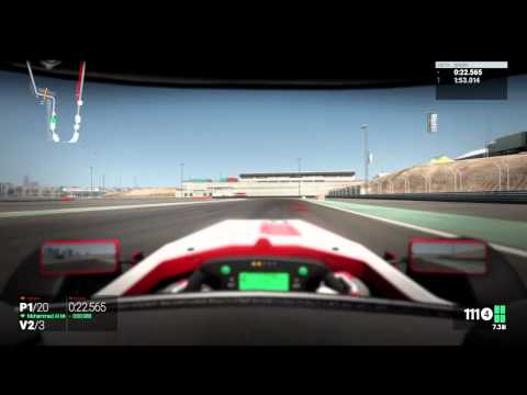 Project CARS - Formula 1 - Dubai Autodrome - Visão Cockpit + Capacete - 01/06/2015